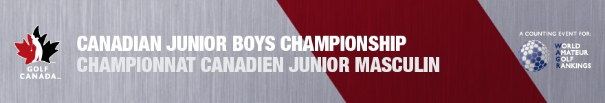 Canadian Junior Boys Championship Tournament Information Page Golf Canada