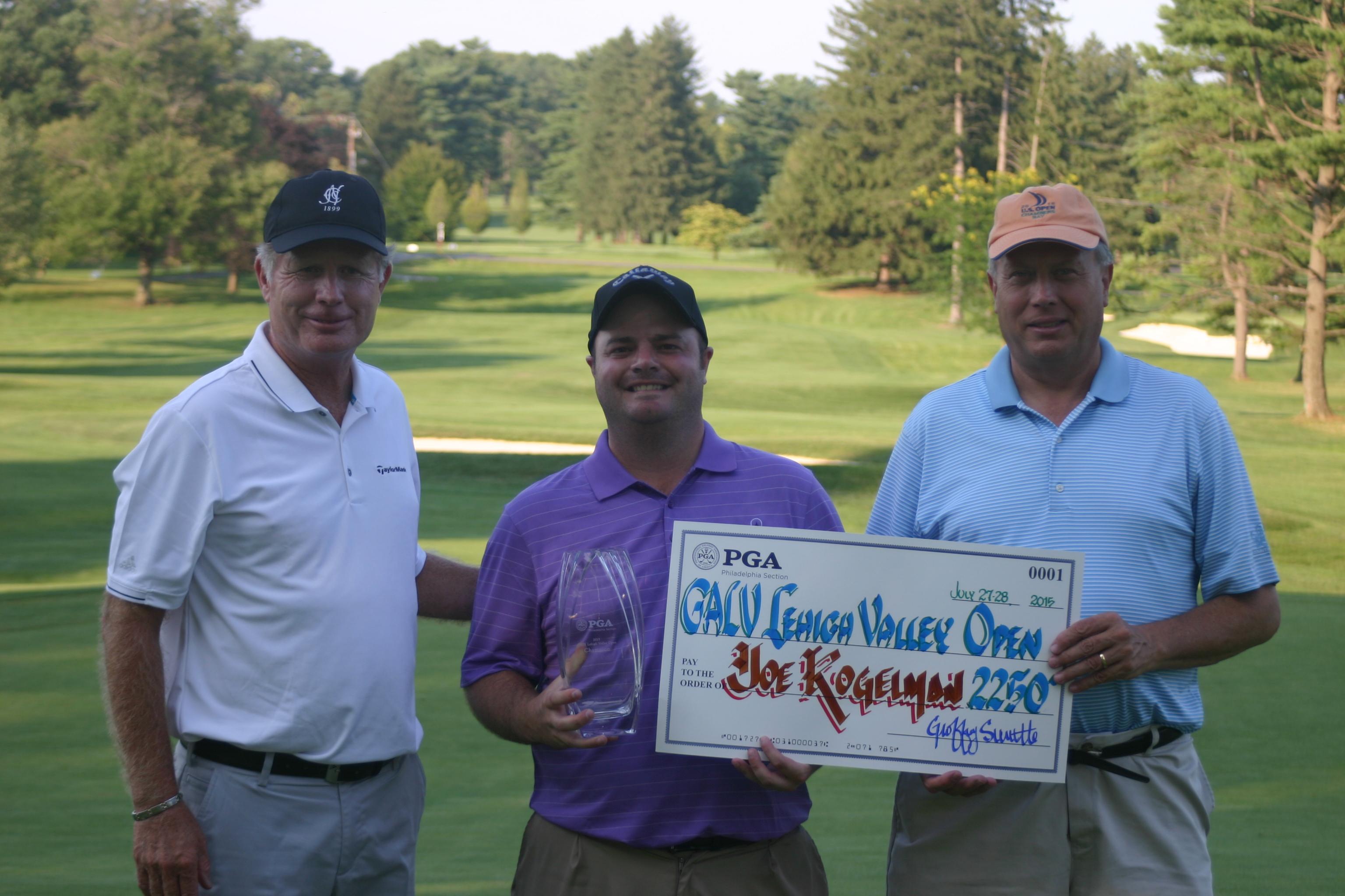 Philadelphia Pga Kogelman Cards Career Best To Win Galv Lehigh Valley Open